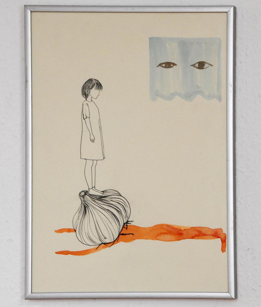 Suah Im, Knoblauch Menschen II, 2020