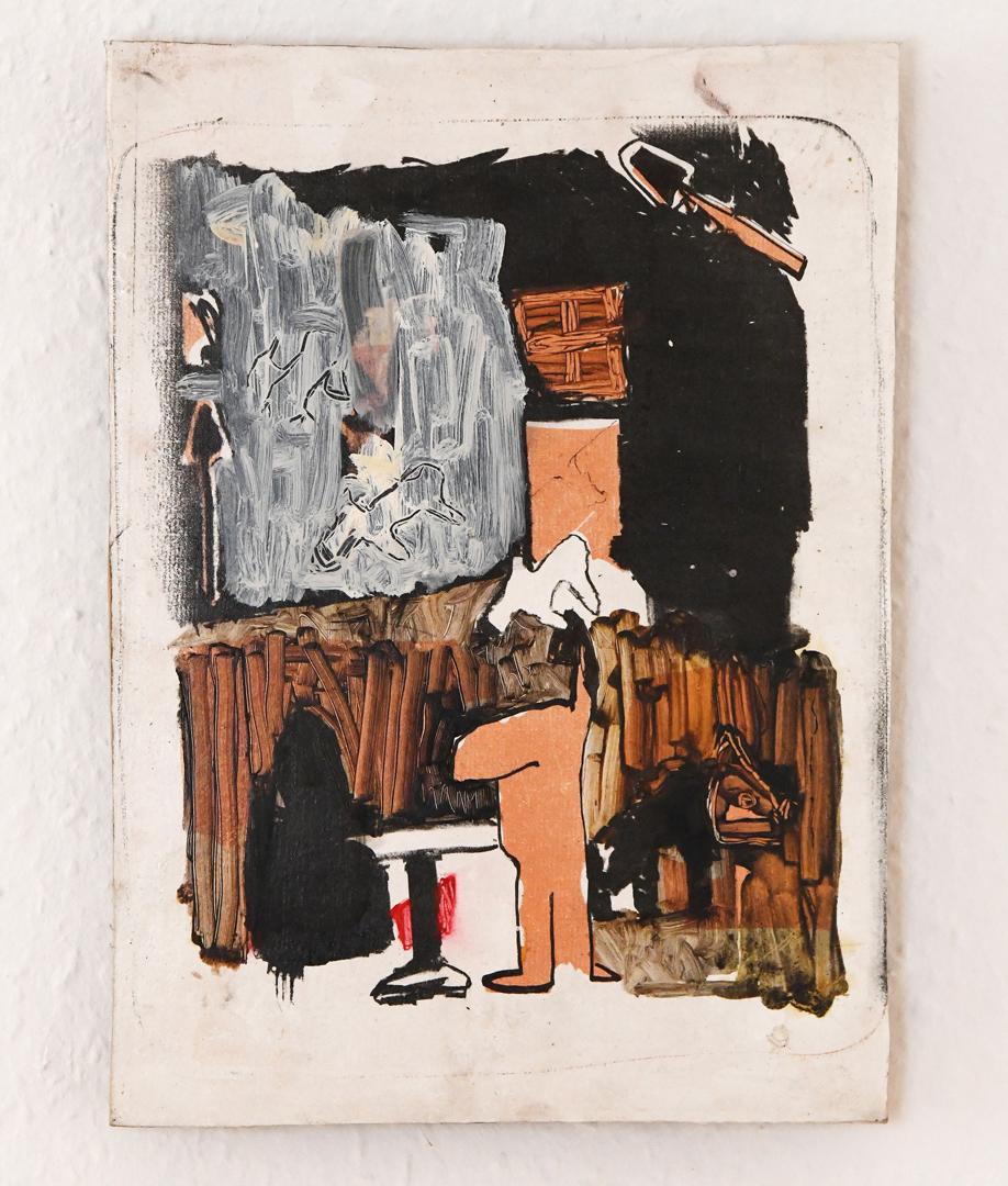 Franciso Wiborg-Bamford, Gedruckt und Geleimt, 2019