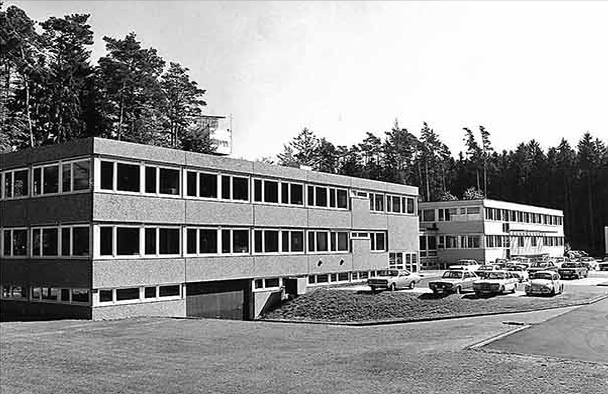 1966 wurden die neuen Gebäude bezogen