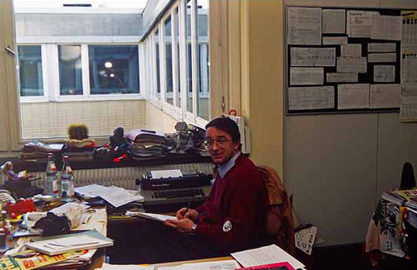Chefredakteur Hans-Jürgen Meyer