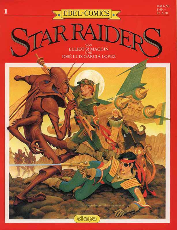 Star Raiders Band 1 von 1986