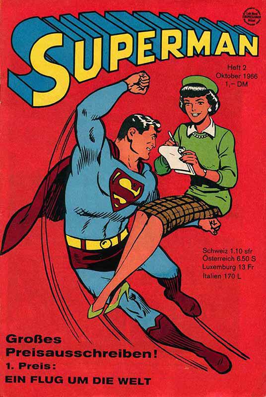 Superman Heft 2 vom Oktober 1966