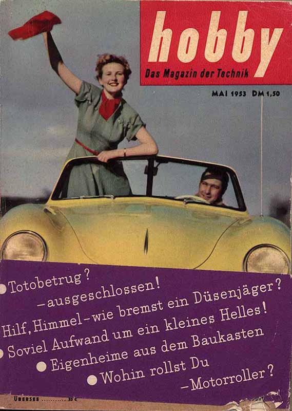 hobby Nr. 5 vom Mai 1953