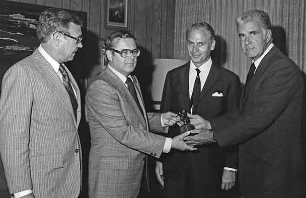 E.J.B. Christensen, Adolf Kabatek, Vince Jefferds, Card Walker