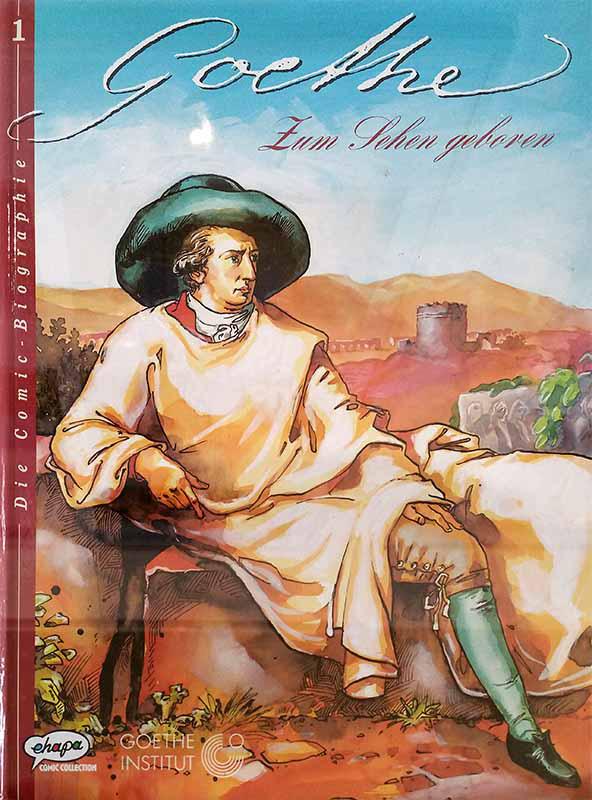 Comic-Biographie zu Goethe