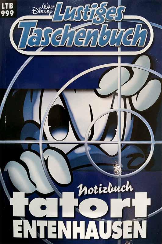 Lustiges Taschenbuch Tatort Entenhausen, Notizbuch