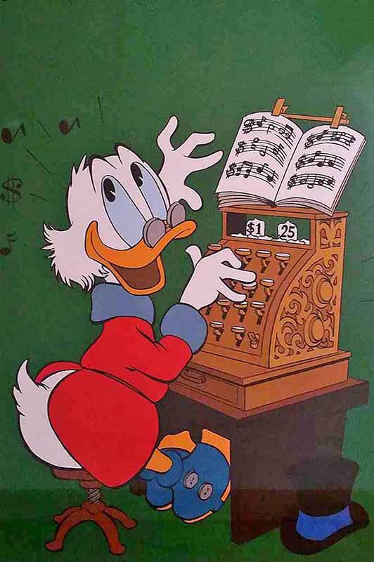 Uncle Scrooge 5, 1954