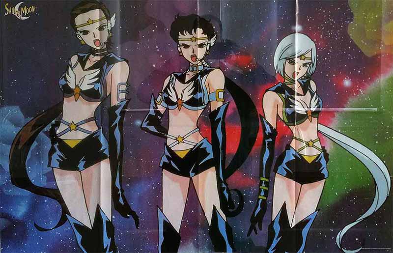 Sailor Moon Poster aus Sonderheft 11, 1999 (Stadtarchiv LE)